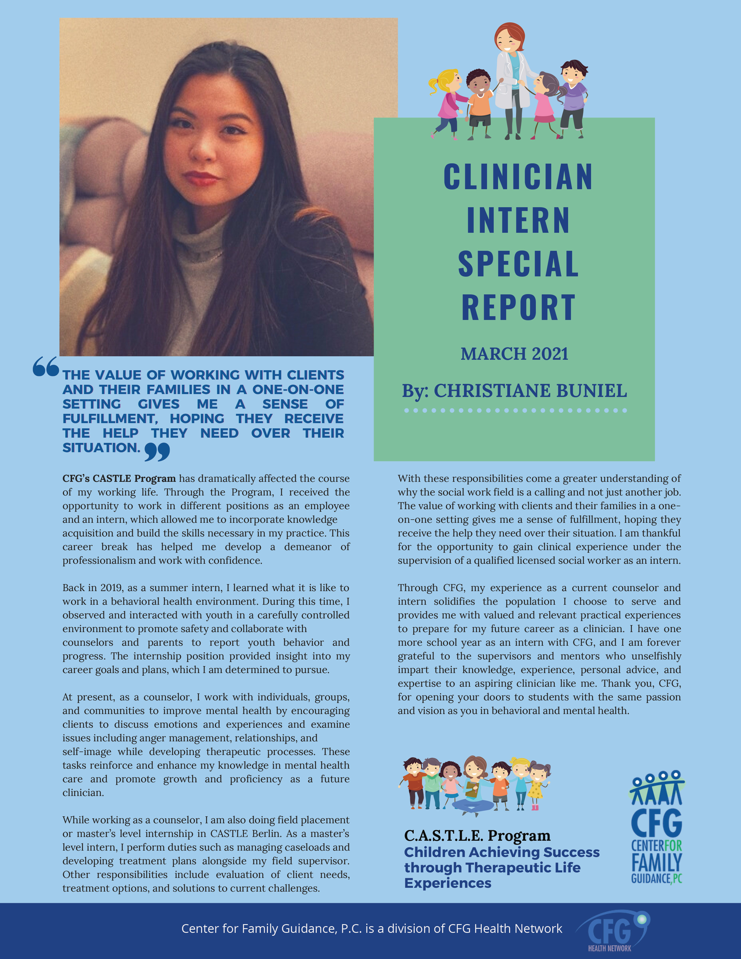 Clinician Intern_ Christiane Buniel